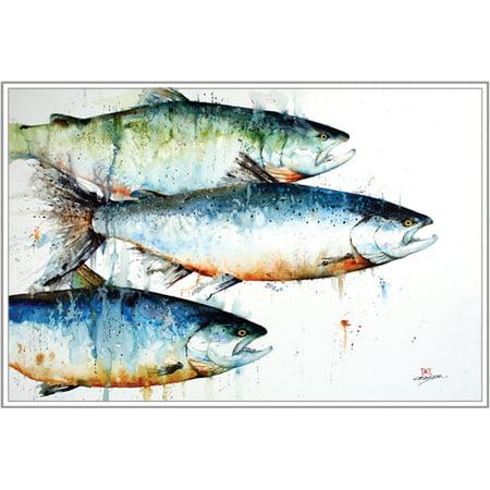 Artist Series Watercolor Card W/Envelope-Three Kings