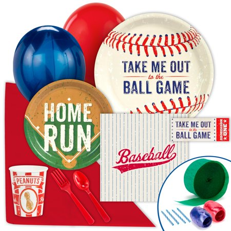 Baseball Time Value Party Pack - Baseball Themed Party