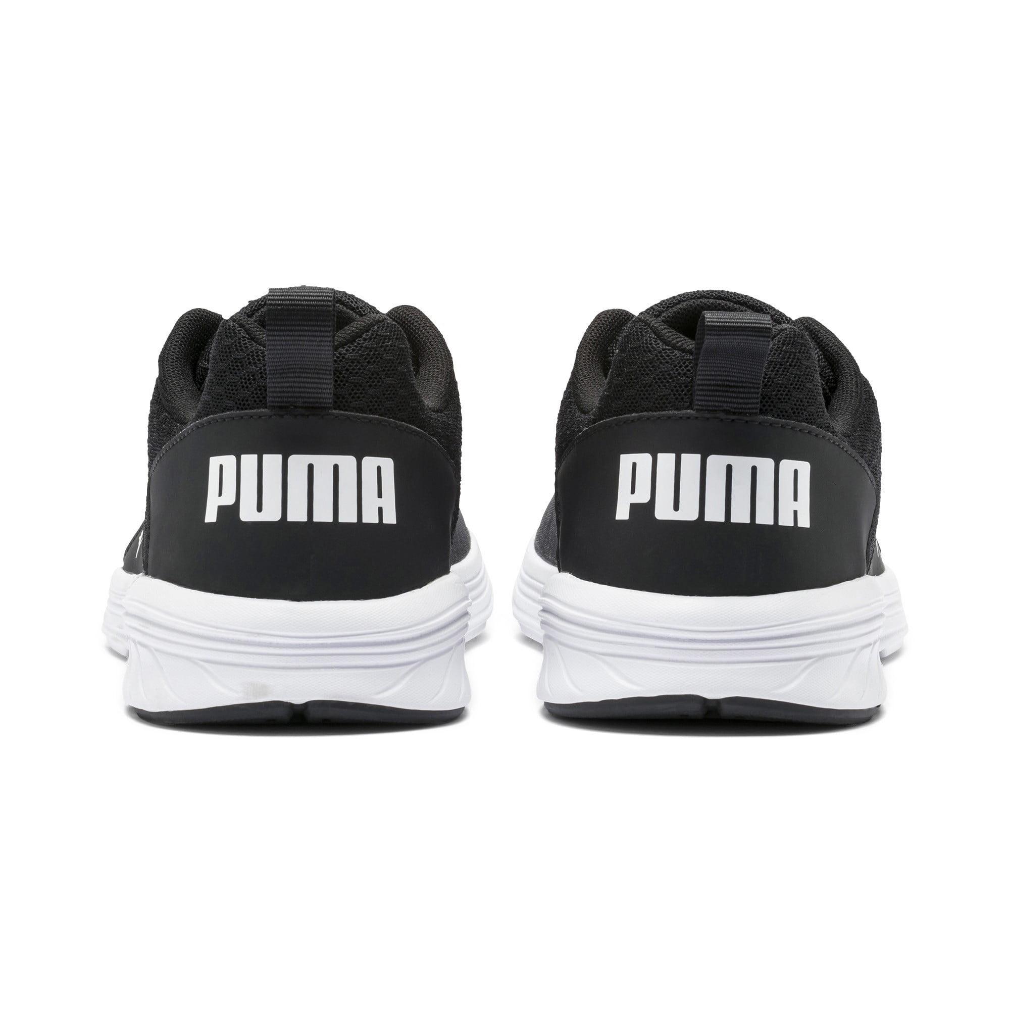 Inicialmente Buscar panel  PUMA - Puma Men's Nrgy Comet Black / White Ankle-High Fabric Running - 11M  - Walmart.com - Walmart.com