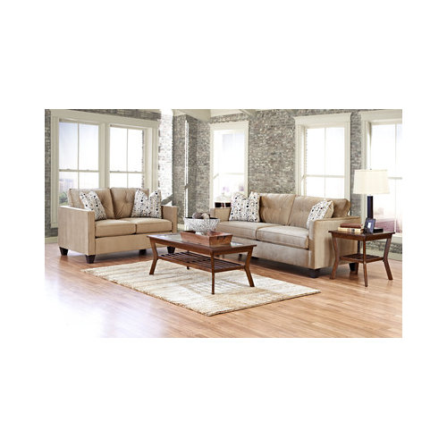 Bundle-14 Klaussner Furniture Derry Living Room Collection (2 Pieces)