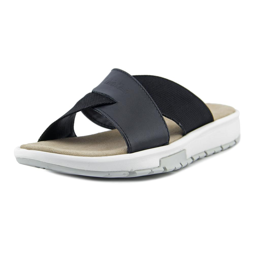 Calvin Klein Palmiro Men  Open Toe Leather  Flip Flop Sandal