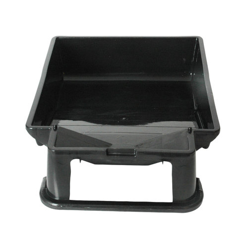 "9"" Plastic Tray with Brush Rest for Painting"