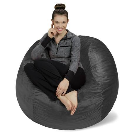 Fantastic Sofa Sack Memory Foam Bean Bag Chair 4 Ft Dailytribune Chair Design For Home Dailytribuneorg