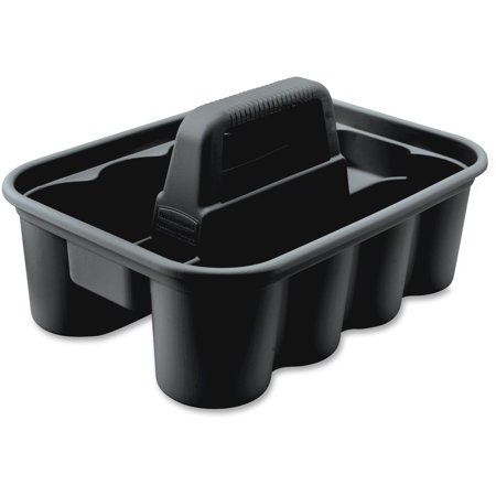 Rubbermaid Commercial, RCP315488BLA, Deluxe Carry Caddy, 1 Each, Black