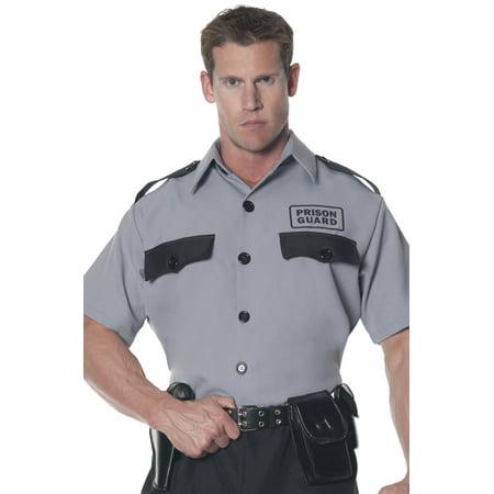 Prison Guard Shirt Adult Halloween Costume