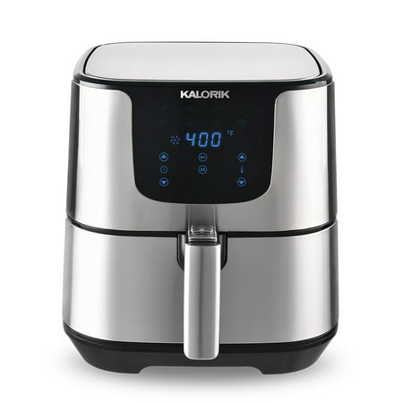 Kalorik 3.5 Quart Stainless Steel Digital Air Fryer Pro
