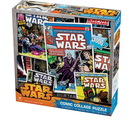 Star Wars Puzzle (Star Wars 1000 -Piece Comic Collage)