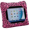 As Seen On TV GoGo Pillow, Pink Leopard 1 ea The As Seen on TV GoGo Pillow Pink Cheetah Tablet Holder can be used as a travel pillow or to hold a tablet. It's great for use at home or on the go. You can comfortably use your device while sitting on the sofa or in bed. You can also transform it into a comfy neck support. Super soft, this pillow can be used with popular electronic devices, such as the Apple iPad, iPad mini, Samsung Galaxy Note and Kindle Fire. This tablet holder pillow is made with a polyester leopard-print material that is durable and easy to clean. Connect the power and headphone wires through the corner access area, so you can use and charge your device while it remains inside your GoGo tablet pillow.