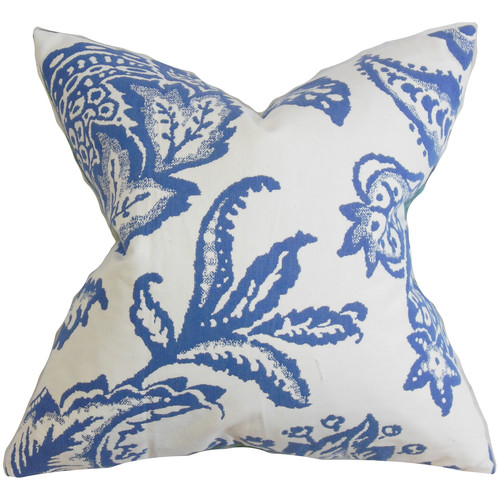 The Pillow Collection Galen Floral Throw Pillow