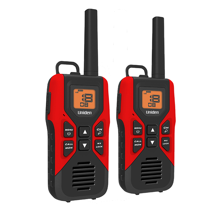 Uniden 30 Mile GMRS/FRS Radio with 121 Privacy Codes and ...