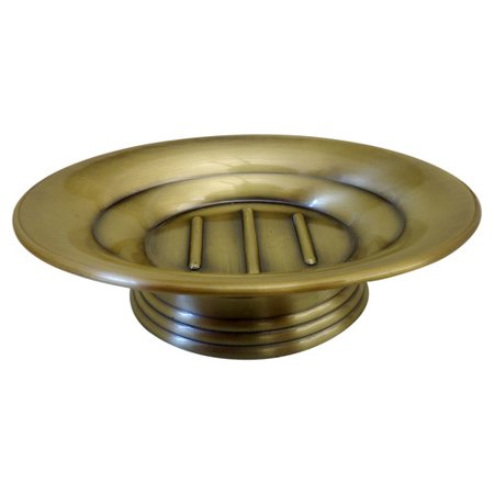 Homewear Antique Brass Soap Dish (Brass Solid Brass Soap)