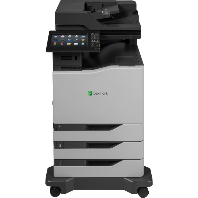 LEXMARK 42KT141 CX825DTE - MULTIFUNCTION - LASER - PRINT, SCAN, COPY, FAX - USB 2.0