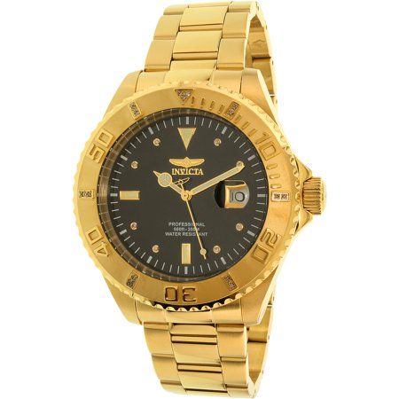 Invicta Men's Pro Diver 15286 Gold Stainless-Steel Swiss Quartz Watch