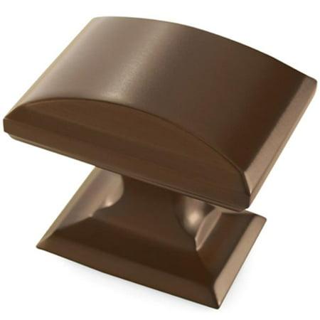 (A29340 CBZ Amerock Knob, 1.25 in. Candler, Caramel Bronze)