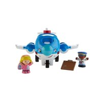 Little People Travel Together Airplane w/Pilot Kurt Deals