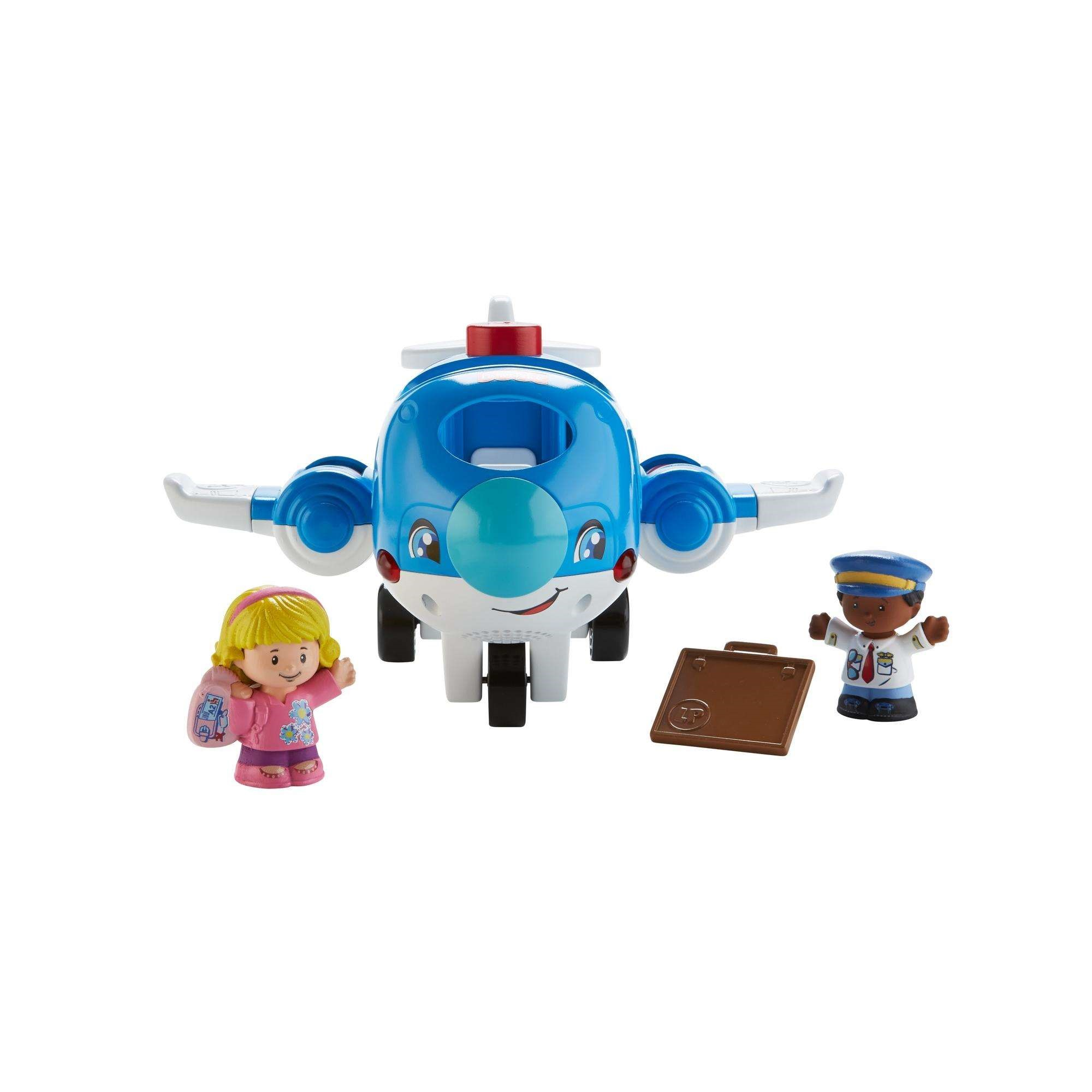 Little People Travel Together Airplane with Pilot Kurt & Emma Figure