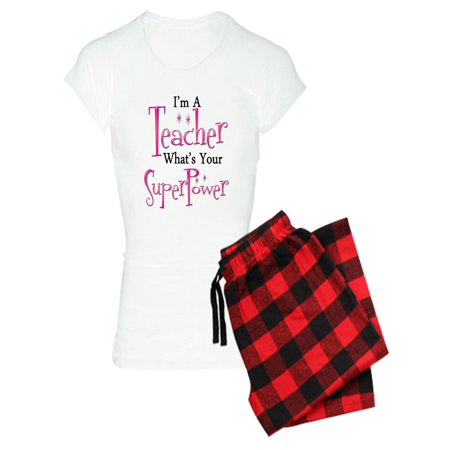 CafePress - Super Teacher - Women's Light Pajamas