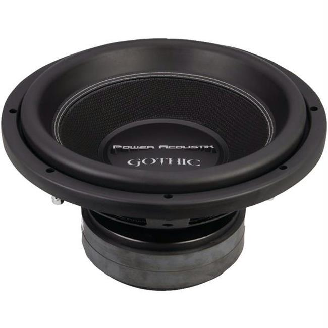 Power Acoustik GW3-12 Gothic Series 2_ Subwoofer -12 in., 2,500w