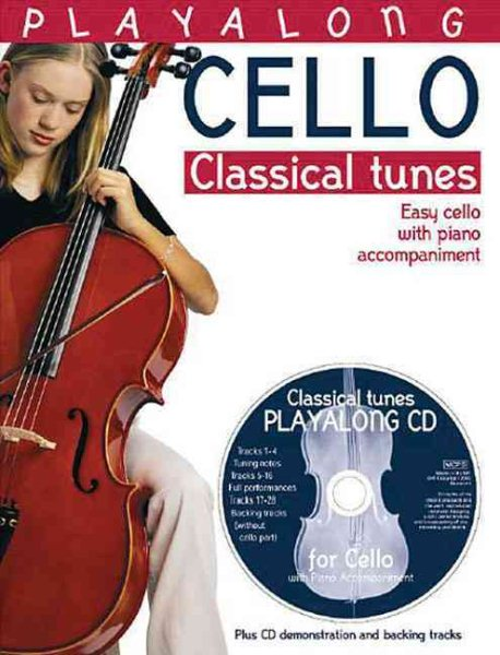 Playalong Cello Classical Tunes by Bosworth