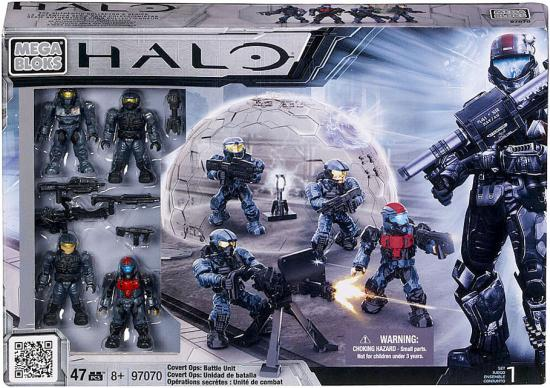 Halo Covert Ops: Battle Unit Set Mega Bloks 97070 by