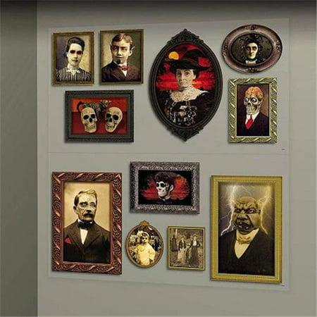 Gothic Mansion Wall Portraits - Gothic Mansion Wall Decor