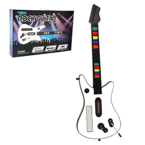 Wireless Fret Guitar Controller For Nintendo Wii White