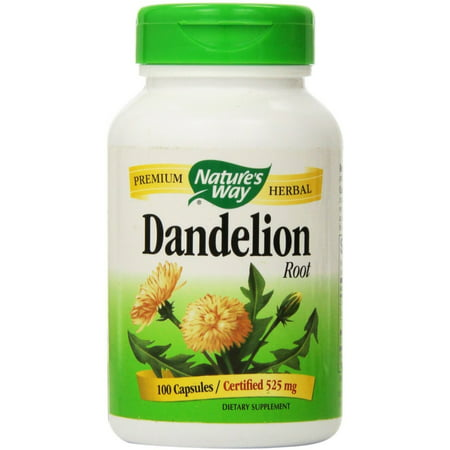 Nature's Way Dandelion Root Capsules 100 ea (Pack of 2)