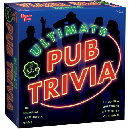 Ultimate Pub Trivia Game - Best Trivia Board Games