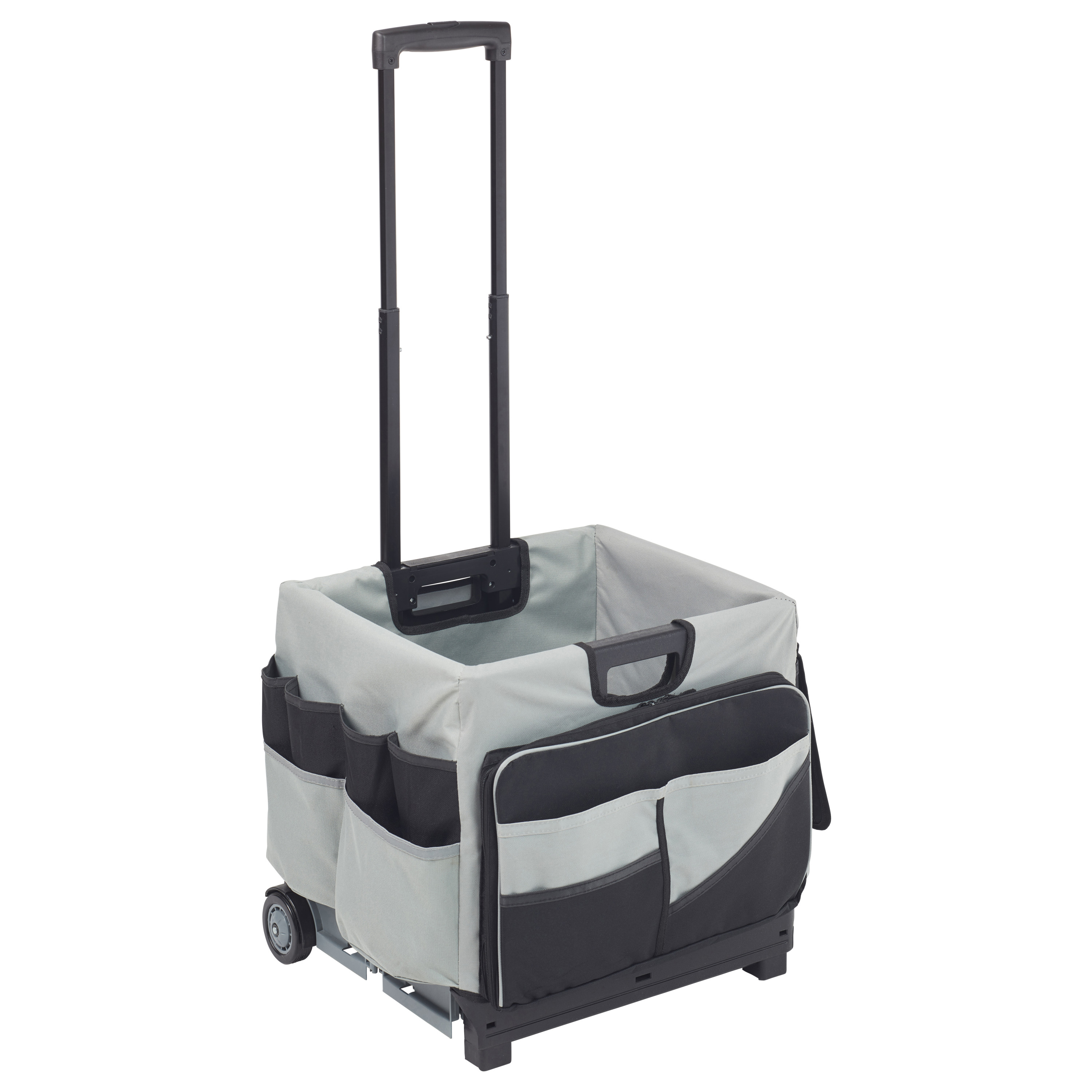 Universal Rolling Cart and Organizer Bag Black by ECR4Kids