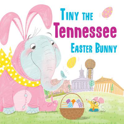 Tiny the Tennessee Easter Bunny - Easter Bunny Coloring Page