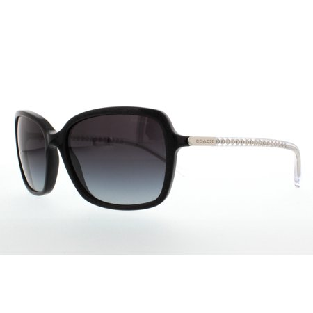 620195d765 UPC 725125938358 product image for COACH Sunglasses HC 8152 532711 Black  Glitter Crystal 57MM ...