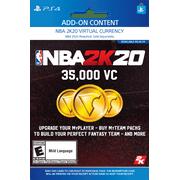 NBA 2K20 35,000 VC, 2K Games, Playstation [Digital Download]