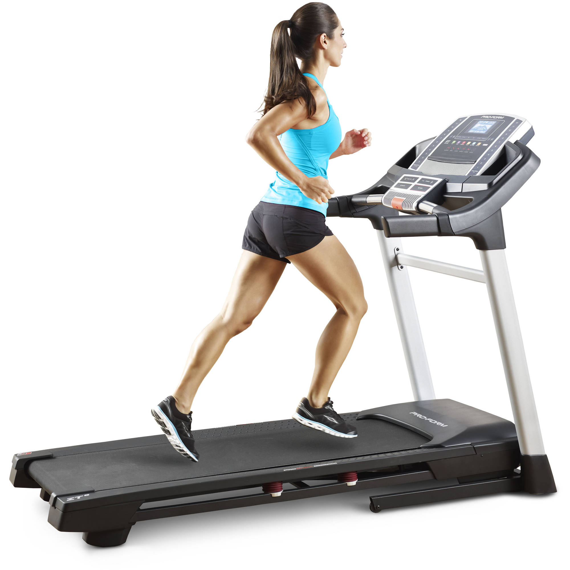 ProForm Power ZT 8 Folding Treadmill with Incline and Workout Fan