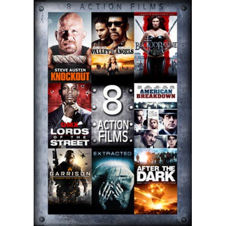 8 Feature Compilation: Action Features (DVD)