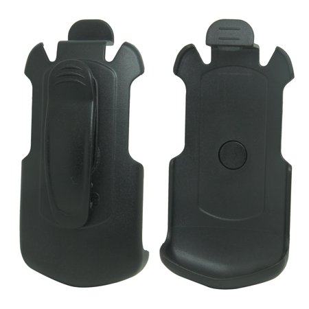 For Sprint Kyocera DuraXTP E4281 Black Swivel Belt Clip Holster Case (Kyocera Black Faceplates)