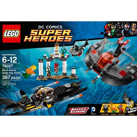 Lego Super Heroes Black Manta Deep Sea Strike Walmart Com