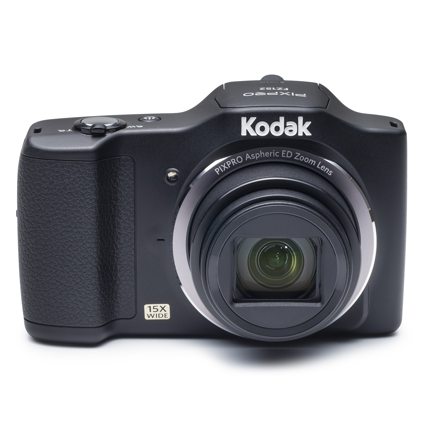 KODAK PIXPRO FZ152 Compact Digital Camera - 16MP 15X Optical Zoom HD 720p Video (Black)