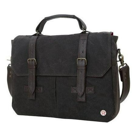 Token Bags Waxed Cortelyou Bag Dark Brown One Size