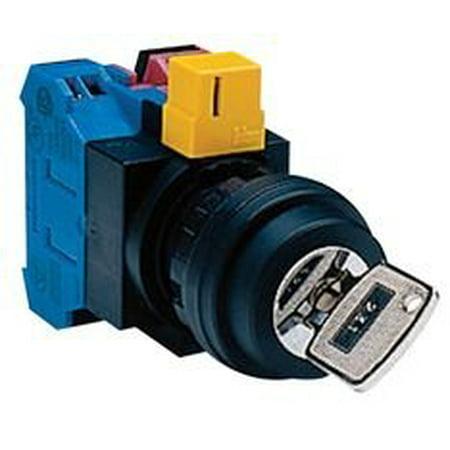 Idec Hw1K-2Af10 Switch, Key Operated, 1No, 10A, 600V (Key Operated Switch)