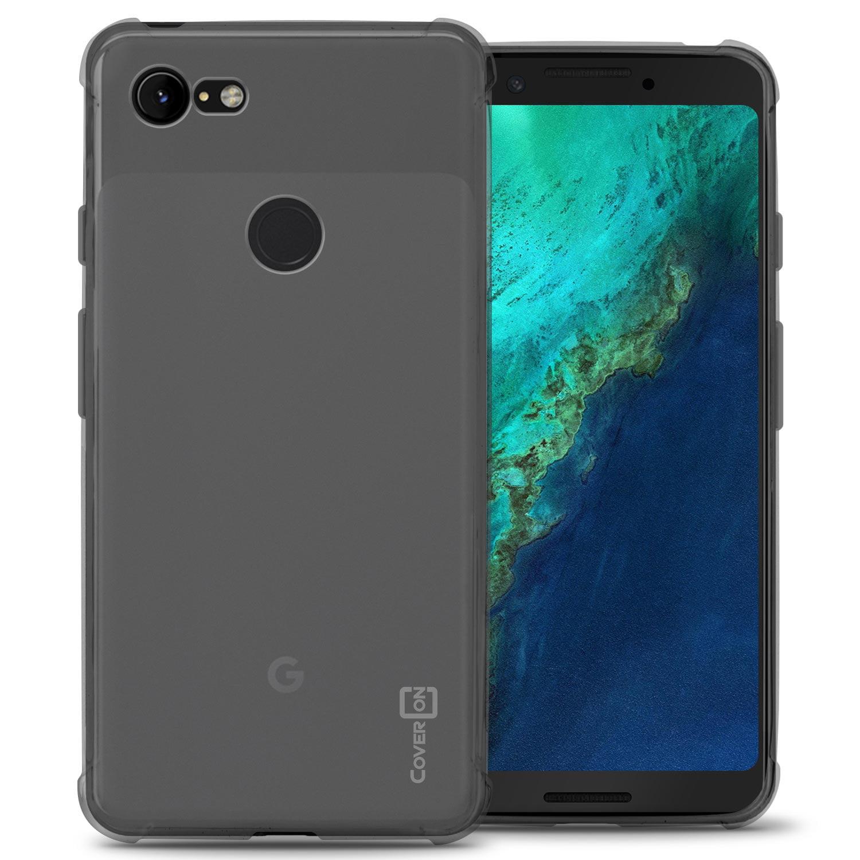 CoverON Google Pixel 3 Case, FlexGuard Series Soft Flexible Slim Fit TPU Phone Cover