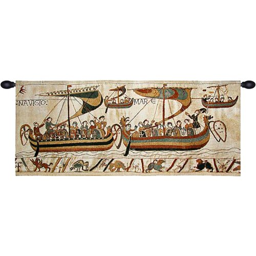 Charlotte Home Furnishings Bayeux Navigio Tapestry by Charlotte Home Furnishings