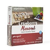 Weight Watchers Cranberry Almond Yogurt Breakfast Square Bars