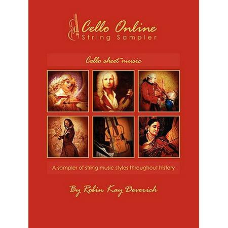 Cello Online String Sampler Cello Sheet Music (Halloween Cello Sheet Music)