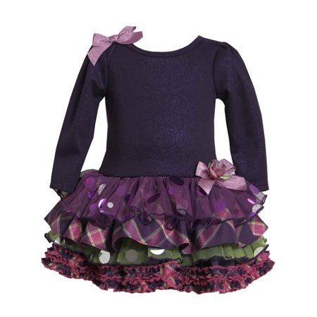 Bonnie Jean Collection: Purple Tiered Dress 10