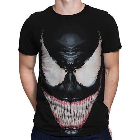 Venom tsvensinsmileM Venom Sinister Smile Mens T-Shirt - Medium