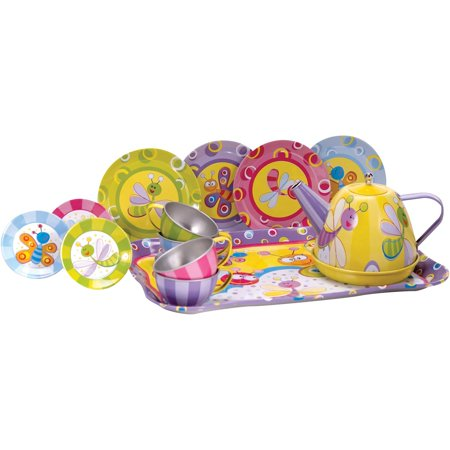 Summer Bugs Mini Tea Set - Kids Tea Party Set