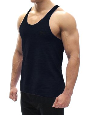 5d451e181a336 Product Image A Men s Tank Top Black 3X-Large. BODYSMART