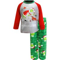 Dr. Seuss The Grinch #TeamGrinch Toddler Pajamas