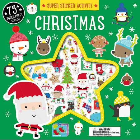 Super Sticker Activity: Christmas - Christmas Activities For Preschoolers