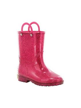8ffff92d60f Product Image Western Chief Girls  Pink Glitter Rain Boot